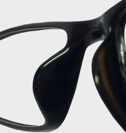 cc0470afc1e3 Glasses without nose pads and without anti-slip pads